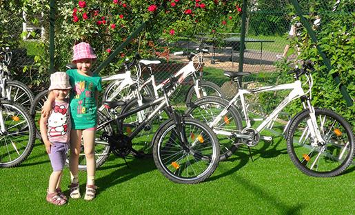 Telkibánya Aranybánya Üdülőpark kerékpározás