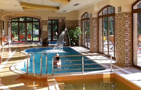 Aranybánya Hotel wellness részleg