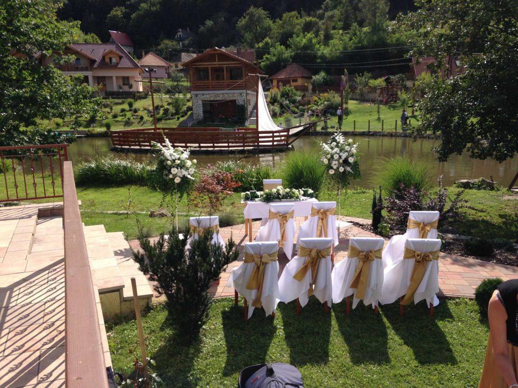 Aranybánya Üdülőpark esküvő