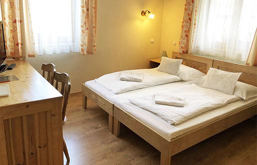 Telkibánya Aranybánya apartman szoba