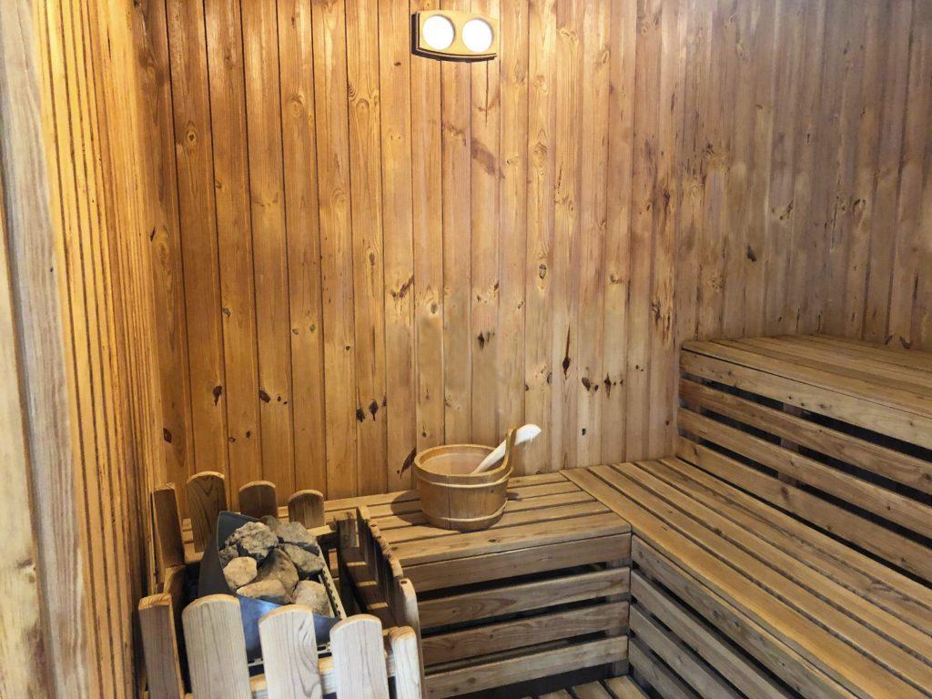 Telkibánya Aranybánya Üdülőpark finn szauna